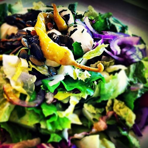 Lunch Lunch Slowfood Ig Igbavaria iggermany instafood instagood photooftheday iphone iphone4 picoftheday healthy gogreen salad greenlifestyle