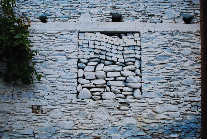 Evrything In Its Place Stone Wall Pastel Power Streetphotography Street Photography İzmir Tire Turkey Türkiye Wall Walls Stone Walls Blue Blue Wall Stone Organized Random Unity Unorganized Window The Window The Window To Our Soul The Window To The Soul The Secret Spaces