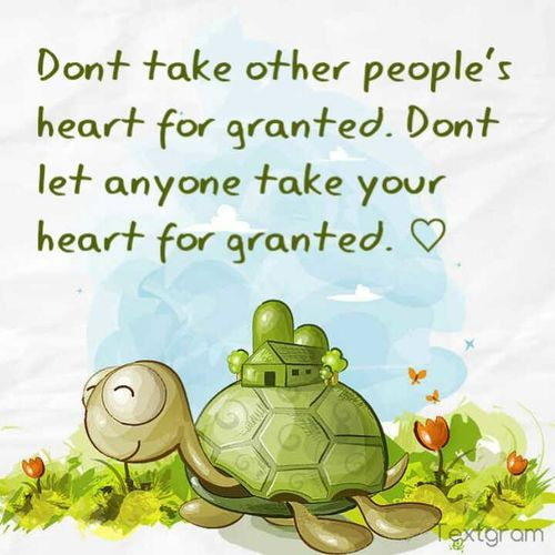 Dont Let Others Take You For Granted (: