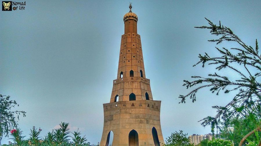 Banda singh bahadur memorial History Architecture Travel Destinations Business Finance And Industry Tree Statue Low Angle View Sky Day Outdoors Building Exterior City No People Ancient Civilization