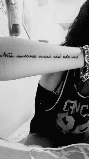 Tattoo Newtattoo Nesli Musica Nonmuoremaiciochesei Scritta Ilovetattoos Citazioni Loseyourselfinthemusic Unaltrogiorno