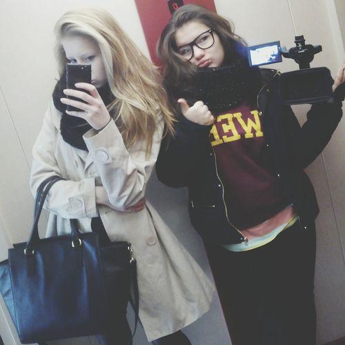 Crazy Friends SelfieInMirror Ladys Polishgirl