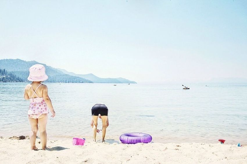 Everyday Lives People Family Daily Life Documentary Portrait Children Beach