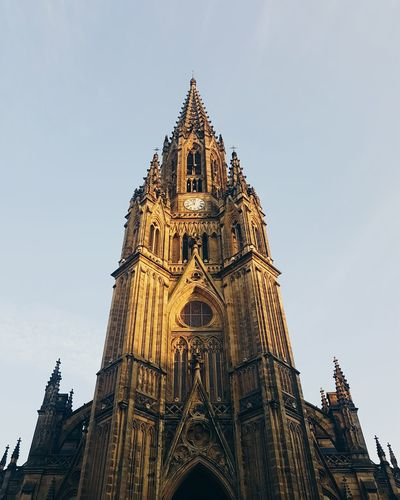 Architecture Sky History Gothic Style City No People Built Structure Archival Travel Destinations Place Of Worship Clock Tower Cross Section Outdoors Cultures Clock Day The Architect - 2017 EyeEm Awards EyeEmNewHere EyeEm Selects Architecturelovers Summer