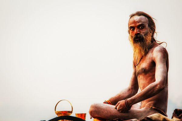 Ascetic Baba Banaras BanarasDiaries Banarasi Naga Sadhu Belief Belief And Faith Close-up Culture God God's Beauty Hermit Hindu Hinduism India Indian Culture  Kashi Naga Sadhu Shiva Sitting Spirituality Varanasi