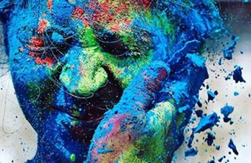 Let the colours of Holi spread message of peace and happiness. Lastyearholi Bestholipicieverclicked Coloursoflife Holi