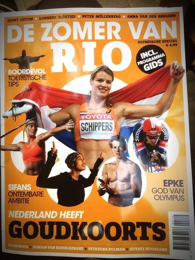 Eindelijk tijd om te lezen. Rio 2016 Olympics