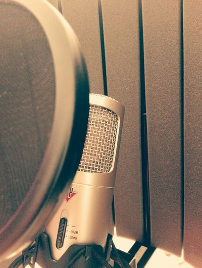 Microphone Recording Recording Studio Vocal STUDIO ONE