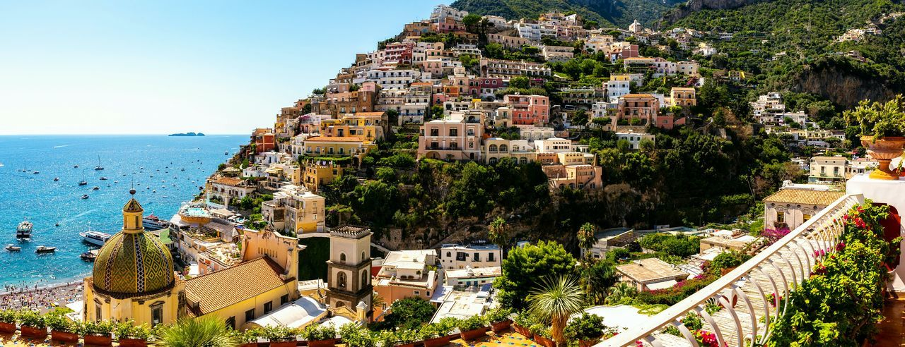 Positano panorama Holiday Destination Famous Places Positano Bella Italia People Sunbathing Travel Destinations Vacation Panorama View Village EyeEm Selects Southern Italy Costiera Amalfitana Amalfi Coast EyeEm Gallery Holidays Flowers, Nature And Beauty Seaside Sunny Nature Seascape Sea Clear Sky Sky Architecture Building Exterior