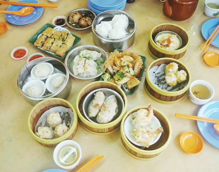 Dim Sum Ready-to-eat Food Food And Drink Table No People Indoors  Plate Chinesefoods Breakfast Penang Chinese Food Penang Malaysia Penang Food