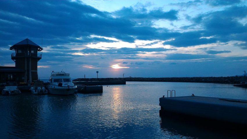 Sea Seaside Marina Di Grosseto Lovingit Sunset Blue Love Tuscany Essence Of Summer