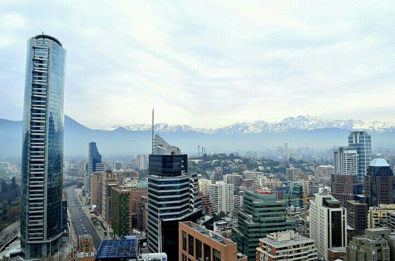 From The Rooftop Santiago de Chile