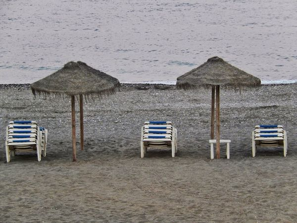 Beach Photography Beach Loungers Empty Beach Evening Photography Absence Arrangement Beach Beach Umbrellas Horizon Over Water No People Outdoors Sand Scenics Sea Shore Summer Sun Lounger Sun Loungers Sun Loungers On Beach Sun Shades Tranquil Scene Tranquility Umbrellas Vacations Water
