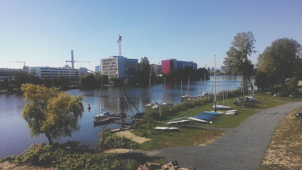 Offenbach River. Offenbach Am Main Germany River Nature Nature Photography