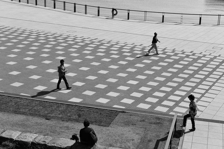 Streetphoto_bw People Shadow Photo