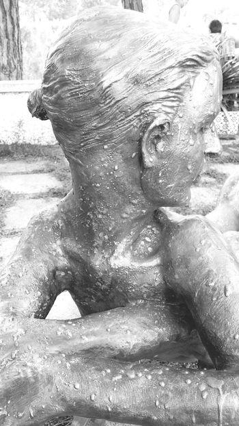 Blac&white  Estatuas Taking Photos Arenys De Mar