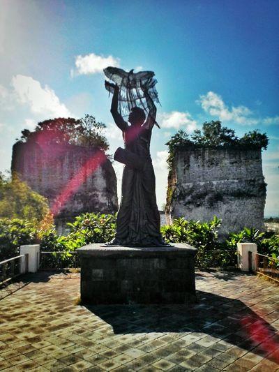 Garuda Wisnu Kencana Art Panorama Sculpture View