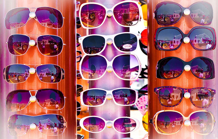 The future is so bright, I'll have to wear shades... Sun Glasses Sun Shades Cool Looking Cool Reflections Of Myself Santa Monica California SoCal