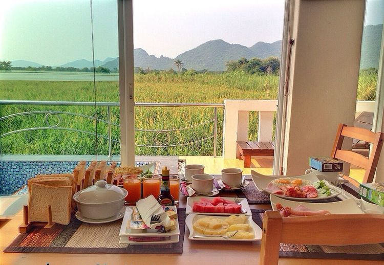 Breakfast Great Views Relaxing Holiday