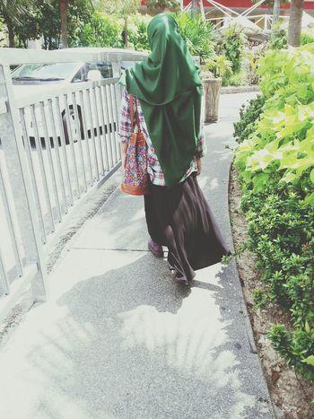 Muslimahfashion Malaysia Docmart Green