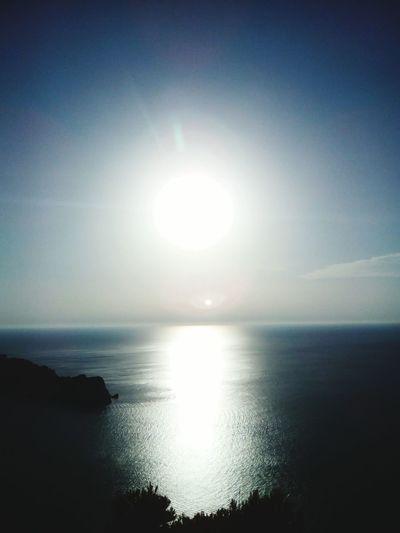 Sunlight Mediterranean Sea Sky Summer2016 Landscape Outdoors Horizon Over Water Dawn Majorca, Spain