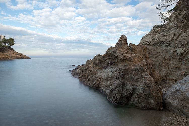 Costa Brava Girona Nature SPAIN Beauty In Nature Cloud - Sky Day Landscape Nature No People Ocean Outdoors Rock - Object Rock Formation Scenics Sea Sky Tranquil Scene Tranquility Water