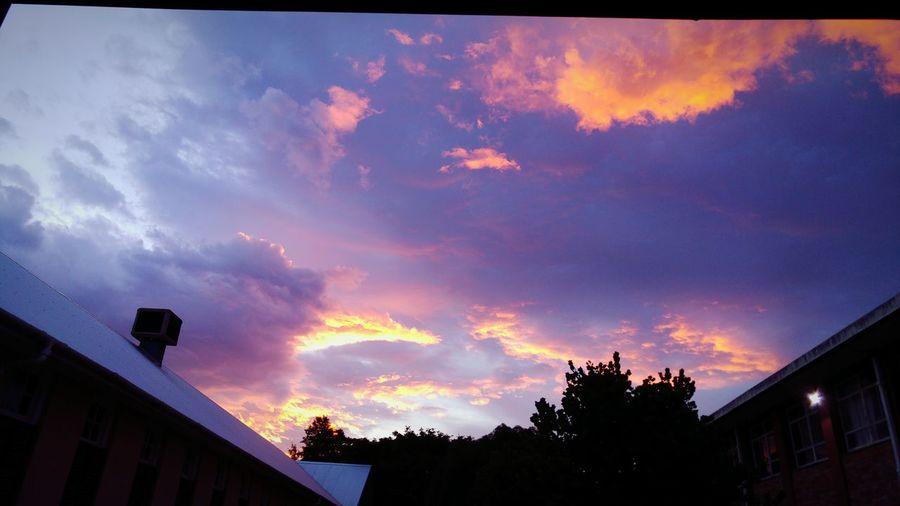 ☁☁☁☁ Nature Sunset South Africa Beautiful Bright Colours School Beautiful Sunset