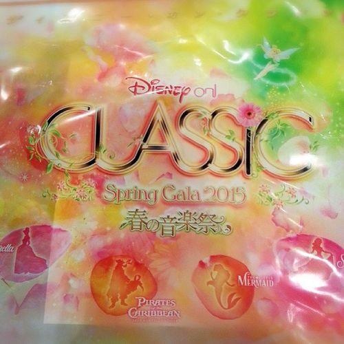 ディズニーオンクラシック春の音楽祭に行ってきた♡最高すぎた♡素敵すぎた♡ 幸せ♡ Disney Classic Concert 春の音楽祭 コンサートディズニークラシック2015princes