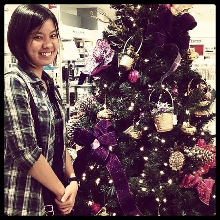 Ready for christmas December 2013 Thursday Afterexam relax jalan2