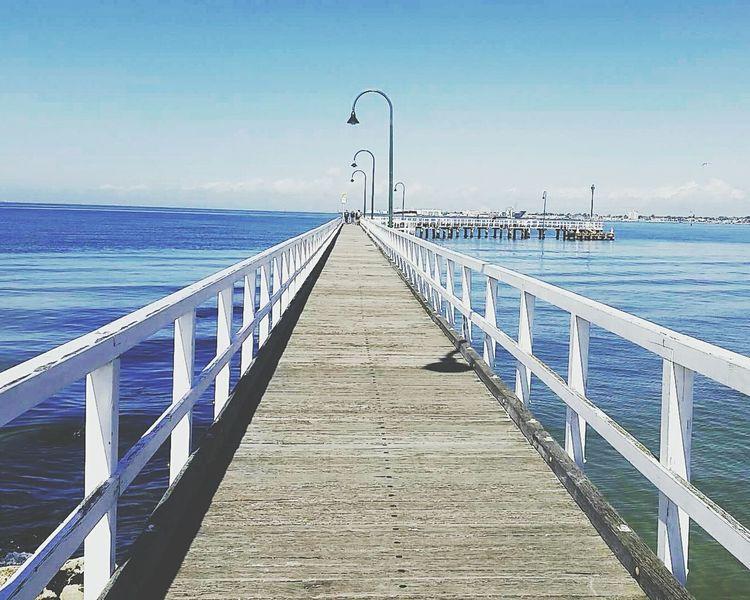 Pier Sopretty Melbourne Ocean