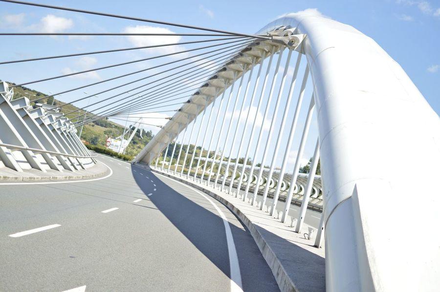 Blanco Bridge Bridges Calatrava Calatrava Style Cantabria Nikon Nikon D3200 Puente Puentes Santiago Calatrava White