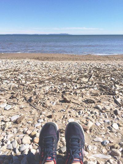 Life Is A Beach Enjoying The Sun Seascape Sky