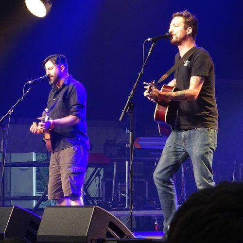 Cambridge Folk Festival 2015 Festival Season Frank Turner  Guitarist Low Angle View Musicians Performance Artists Songwriter Standing