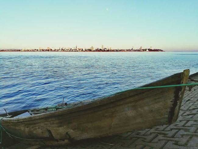 Coolmorning Old-fashioned Boat Encarnacion Paraguay Rioparana