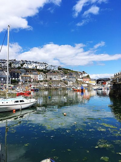 Check This Out Beautiful Hanging Out Hello World Taking Photos Fishing Boat Harbour Sun Shining Glorious sunny day in Mevagissey Cornwall