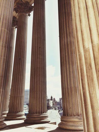 Columns St Georges Hall Liverpool