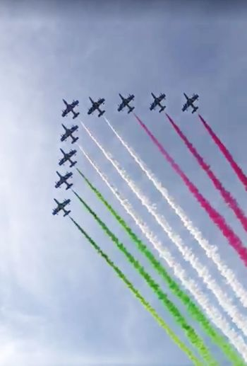 2 Giugno Frecce Tricolori History Flags In The Wind  Tricolore Bandiera Italiana Frecce Tricolore Airshow Flags In The Wind  Festa Della Repubblica Italiana Invitation Multi Colored Italy❤️ Ceremony Flags In The Wind  Air Airplane Formation Flying Air Vehicle Flying Airshow Smoke - Physical Structure Military Airplane Rome Italy🇮🇹