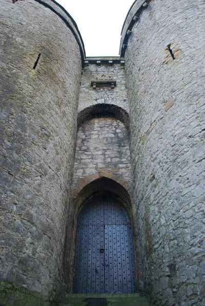 King John's Castle on the Shannon River in Limerick, Ireland Architecture Building Exterior Built Structure Castle Day History No People Outdoors Stone Taking Photos Water
