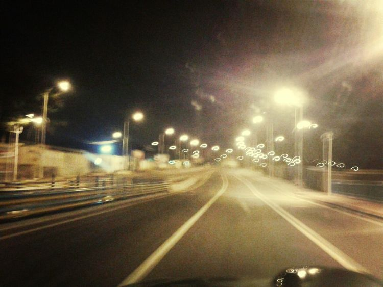 The Road for Myself .. Driving Nightlife