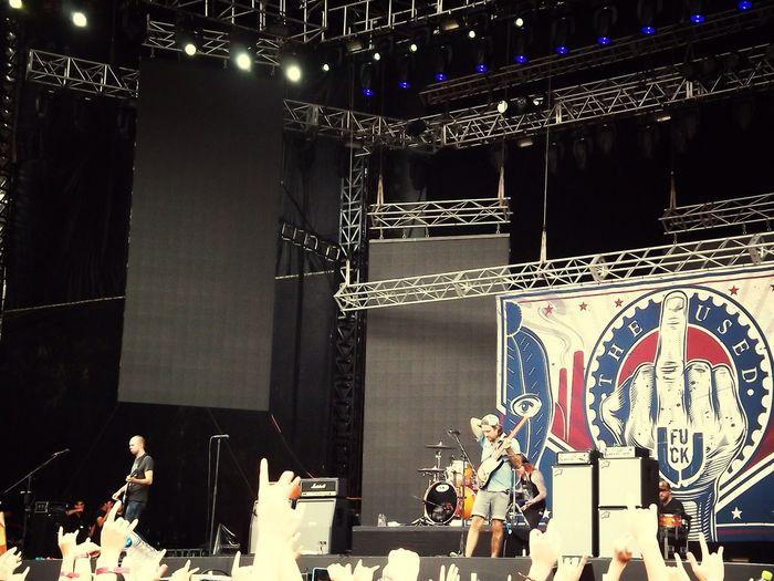 Rock Festival The Used Citybreak 2013.08.17