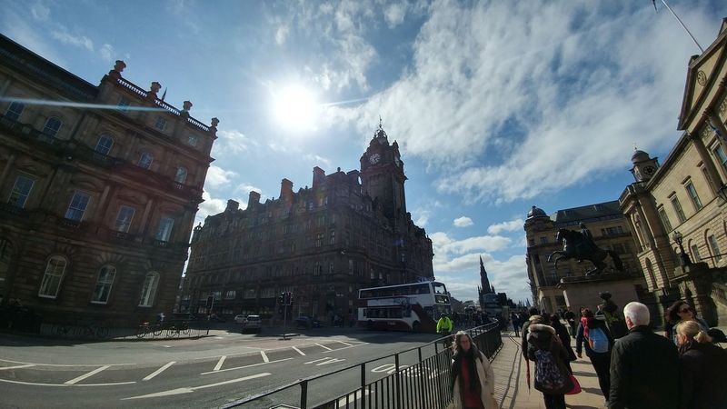 sunshine on princes street Edinburgh Princes Street First Eyeem Photo