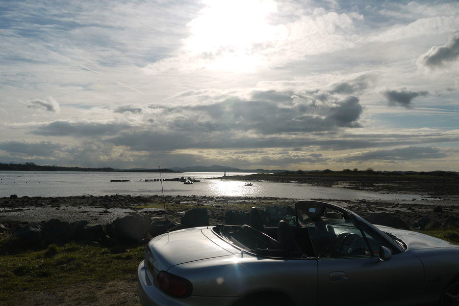 Car Cloud Cloud - Sky Mx5 Nature Northern Ireland Outdoors Scenics Scrabo Tower Sky Strangford Lough Tranquility