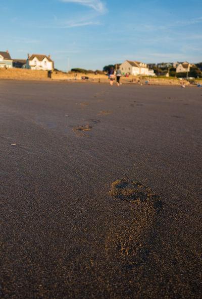 Beach Life Evening Evening Light FootPrint Footprints In The Sand Sand Summer Sun Warm