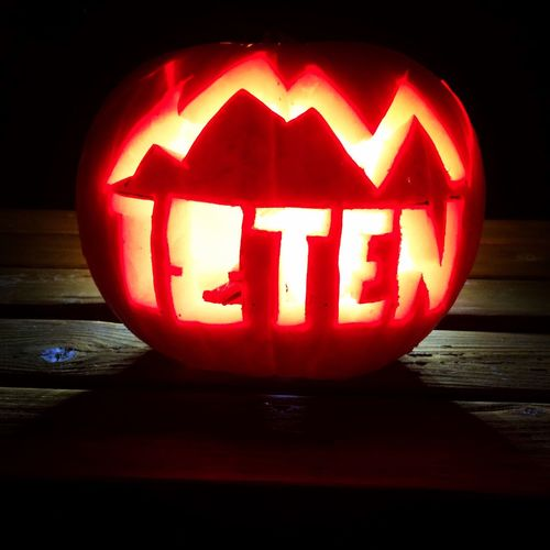 Pumpkin Halloween Vegetable Spooky Night Jack O Lantern