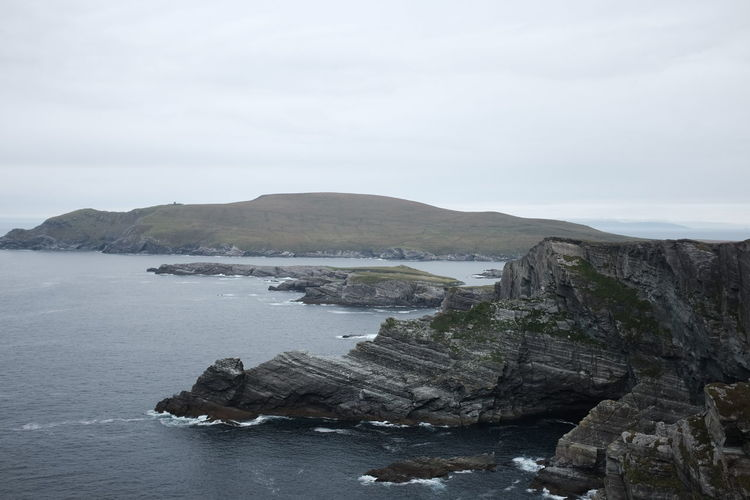 Ireland Beauty In Nature Cliff Day Iceberg Nature No People Outdoors Ring Of Kerry Rock - Object Scenics Sea Sky Tranquil Scene Tranquility Water
