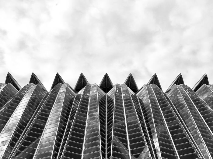 Structure Shapes Blackandwhite Background Backgrounds Structure Architecture Low Angle View No People Sky Outdoors Day Nature