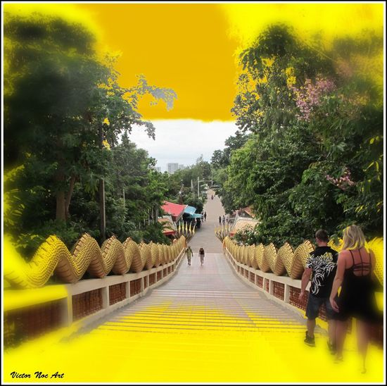 Victor Noc Art 🎱 Vittorio Nocente Photo Art Thailandia 2015 VicNoc La Collina Del Budda Pattaya City Sfumature Foto VicNoc Draghi Pattaya City Artfoto Art 👉