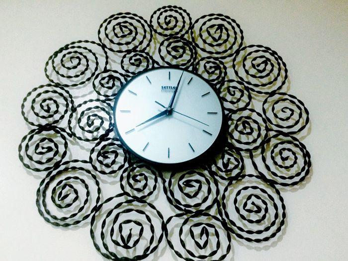 Clock Round Clock Clock Photography