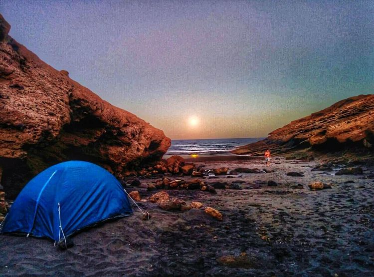 Beach Aventure Camping Landscape Sea Vacations Sunset Beauty In Nature TentTravel Destinations Tenerife Friends Camping Sand Night Travel Nature Outdoors Scenics Adventure Sky Summer No People Beauty