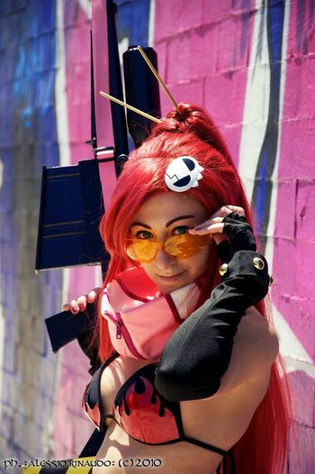 Cosplay Shoot GurrenLagann Yoko Animegirl Manga Nikond90 Nikonphotography Check This Out Colours Beautiful Day